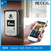 ATZ E-Bell Remote Doorbell IP Video 720P Door Phone Wireless Alarm System