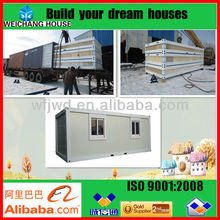Flat Packed Movable Container Office