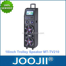Portable Disco light Trolley Speaker with built in EVD /DVD function