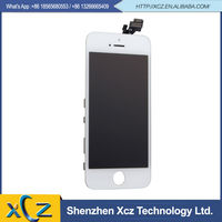 China suppliers wholesale mobile phone accessory lcd for iphone 5 5g touch screen