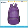 Factory price Lightweight Travel Gym Sports Bag Pack Folding Backpack