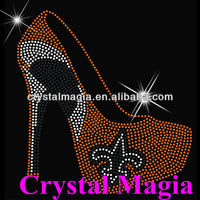 new style shoes 2013 for women hotfix motif rhinestone design