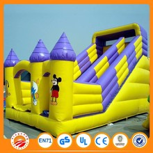 Commercial bounce house large inflatable water slides