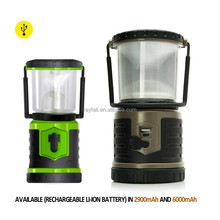Factory OEM outdoor waterproof rechargeable portbale solar lanterns phone charger