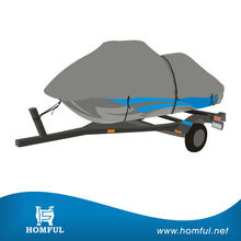 New design 2015 newest designed breathable fabric 3 Seater Jet Ski Cover