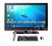 """Shenzhen 55"""" más barato más moderno equipo de hardware todos en una pc tv led"""