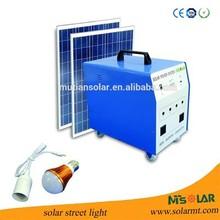3W USB mobile and lighting protable mini solar system