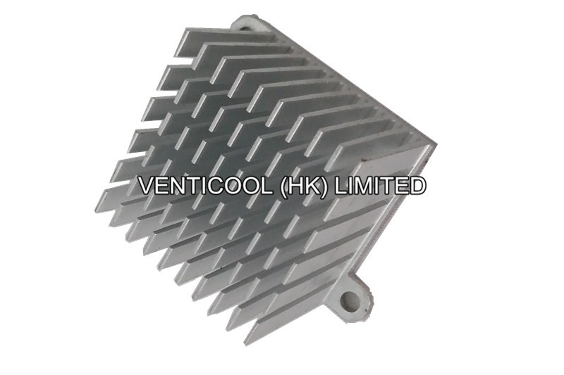 Copper Extruded Shapes : Customized aluminum copper extrusion extruded heat sink
