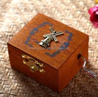 Mini lovely gift box wooden music box