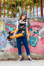 Newest Model Li Battery Electric Motor Scooter for Adults Two Wheels Stand Up Electric Scooter