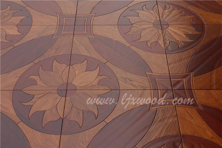 Pisos de madera de ingeniería parquet de arte clásico chino diseño ...