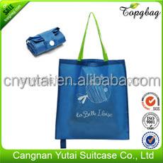 Fashion folding shopping bag,tote shopping bag