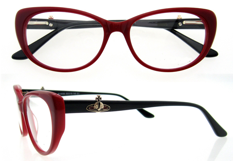 Cat Eye Glasses Women Designer Glasses Clear Frame Multi Colored ...