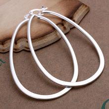 925 sterling silver big hoop earrings
