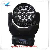 Alibaba Online wholesale (8 pieces) club disco used moving head lights 19 x 12w moving head with zoom