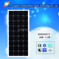 high efficiency and low price mono 100W solar panel