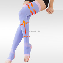 True Heel Thigh High 3D Knitted Japanese Stockings, Nylon Stockings, Compression Stockings