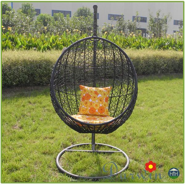 barato pe rattan muebles del patio jardn hamaca columpio de mimbre cama colgante