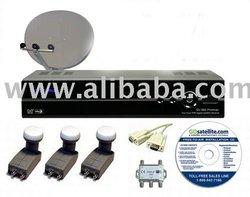 Sonicview 360 Premier STATIONARY FTA System #3 Satellite TV Receiver