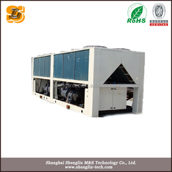 more efficient and little energy consumption air cooled water chiller