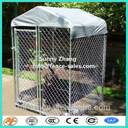 factory supply wholesale 4x6x8 outdoor dog run kennels