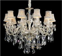 Art deco indoor crystal chandelier lighting fixtures MD8711-L10