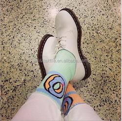 Fashion Cushioned Old Future Doughnut Socks 6 Color Cushion Sole Socks Unsex Odd Future Socks OFWGKTA Donut Socks Tyler
