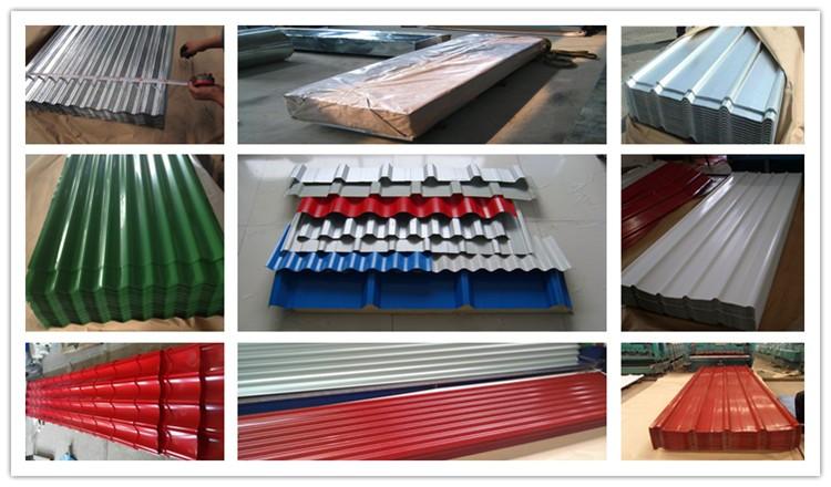 China Good Ppgi Corrugated Steel Sheet Ppgi Metal Roofing