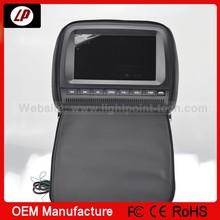 HD 9 inch wireless game car DVD player /FM/IR/USB SD/DVD headrest car DVD display