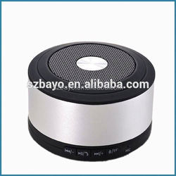 Hot selling smart phone metal speaker in 2015 3W portable wireless mini bluetooth speaker