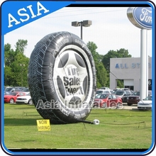 Giant advertising inflatable tire display/Inflatable tire(bespoke,promotion,Guangzhou)