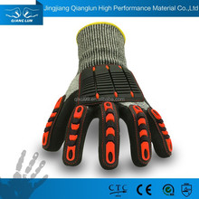 Qianglun 2015 new high quality gloves for impact reducing gloves