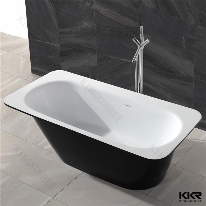 Kingkonree solid surface freestanding tub bath tub for for Freestanding baths for sale