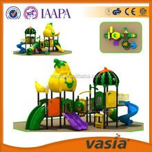 Watermelon Roof outdoor Kids' plastic Slide, outdoor playground equipment,amusement park equipment Best sale in Dubai