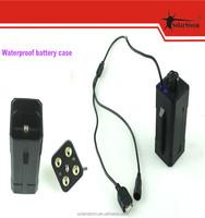 SolarStorm BC-2 cheapest rechargeable 4 * 18650 Li-ion battery case for bike light
