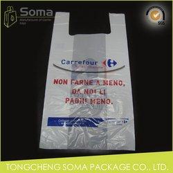 Economic unique promotional plastic bag carrying