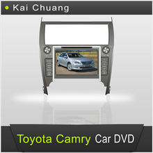 8 inch 2 din Car Audio Toyota Camry 2012 with High Definition Touch Screen