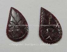 Semi preciosas rubí tallado de la forma de lujo, 2014 especial de piedras preciosas para la venta