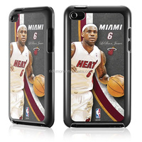 New Product Lebron James Miami Heat VS Kevin Durant Oklahoma City Plastic cell phone case for Apple iPhone 5s