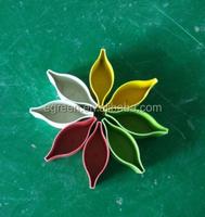 New Style Biodegradable Plant Fiber Flower Pot Eco-friendly Biodegradable Flower pot,Bamboo rice hull