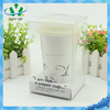 Wholesale ceramic cup with flexible drinking straw
