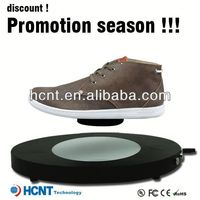new invention ! magnetic levitating led display stand for shoe woman,service shoes prices in pakistan