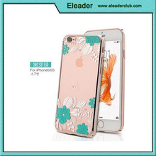 Transparent Crystal Clear case for iphone 6 Element Diamond