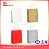 Manufacturer Wholesale handle kraft craft brown paper gift bags party supplies bag