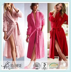 Plus Size Supersoft Long Robe robe de soiree long flannel robes floor length nightgowns