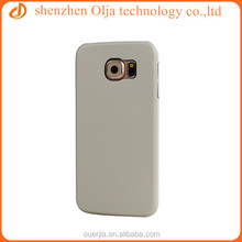 Olja pu leather coatin blank tpu case for samsung galaxy s6 for other models