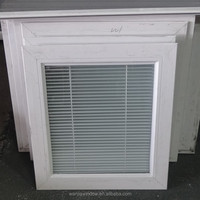 Hot sale manual blind inside double glass window