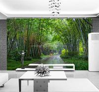Shenzhen factory professional designer bamboo pattern wallpaper