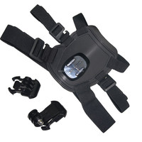 2015 hot on sale Pet products safety harness led dog harness gopro dog harness