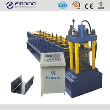 High speed galvanized steel channel furring making machine